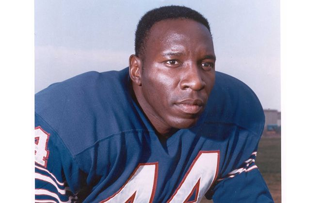 "Elbert Dubenion, nicknamed ""Golden Wheels,"" was a key member of the Bills in 1960s and later a scout."