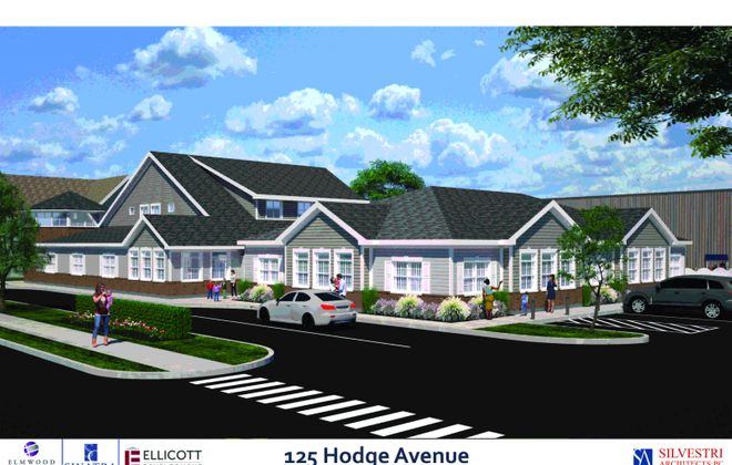 The proposed EduKids day care at 125 Hodge Ave. (Image courtesy of Sinatra & Company Real Estate and Ellicott Development Co.)