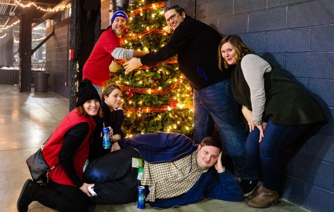 The Kerfuffle Before Christmas, the annual concert series by Alternative Buffalo, can be a festive experience. (Jordan Oscar/Special to The News)