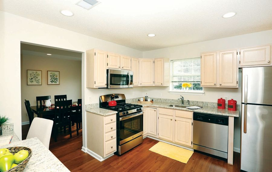 Spacious apartments and townhouses at StoneGate provide the feel of a small home without the hassles of maintenance.