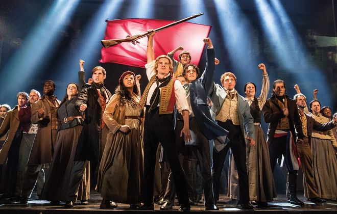 "The touring production of ""Les Misérables"" is at Shea's Buffalo Theatre. (Photo by Matthew Murphy)"