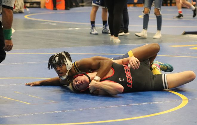 Wrestling for the Wolverines since seventh grade, Willie McDougald has won five Section VI titles, claimed a state title at 132 pounds as a sophomore and at 145 as a senior. (Contributed photo)