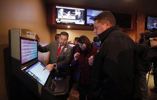 The Seneca Buffalo Creek Casino began taking sports bets earlier this month. (Mark Mulville/News file photo)