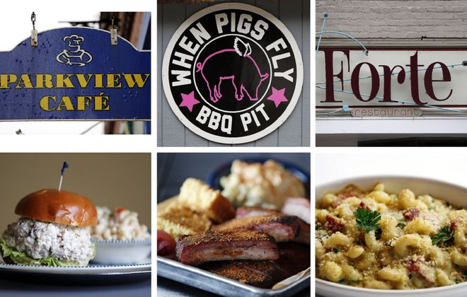 """These are some places News Food Editor Andrew Galarneau found """"especially memorable"""" in Chautauqua County. (Mark Mulville/Buffalo News)"""