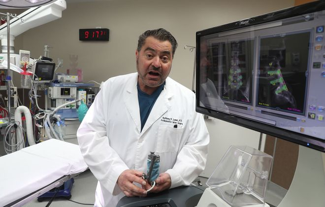 """""""I certainly did not set out to become an example of what not to do, but if my story helps others, as a warning about these dangerous drugs, that will be a bonus,"""" Dr. Anthony Leone said in a statement Monday.  (News file photo)"""