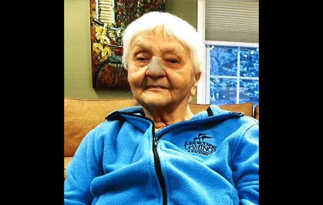 Alice M. Klosko, a resident with mild dementia at Brompton Heights assisted living facility in Amherst, wandered outside in the middle of the night Dec. 9, 2017, and nearly froze to death. (Photo courtesy of Klosko's daughter Doris M. North)