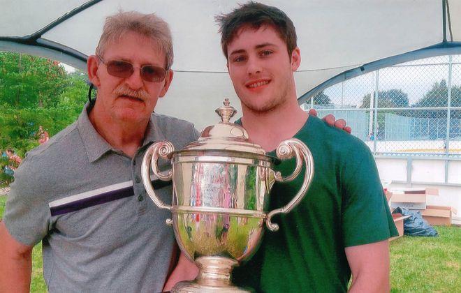 Mitch de Snoo and his father, Casey. (Courtesy Mitch de Snoo)