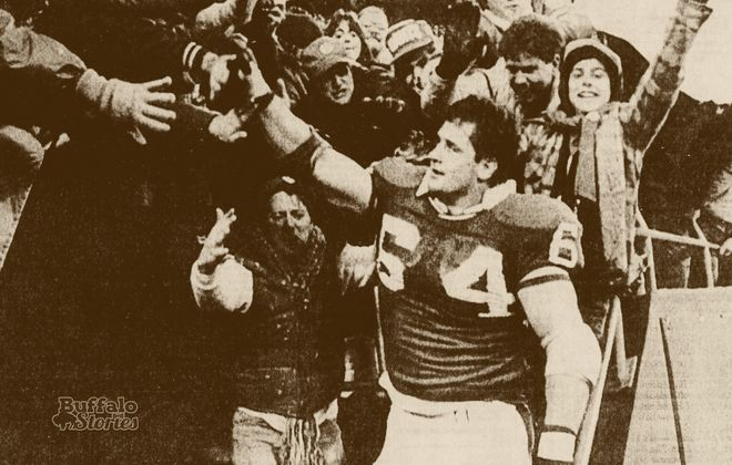 """Jim Burt, the Orchard Park native who Giants teammates described as """"the good kind of crazy,"""" was the first to dump Gatorade on a coach's head to celebrate a football victory."""
