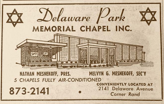 Torn-Down Tuesday: Mesnekoff's Delaware Park Memorial Chapel