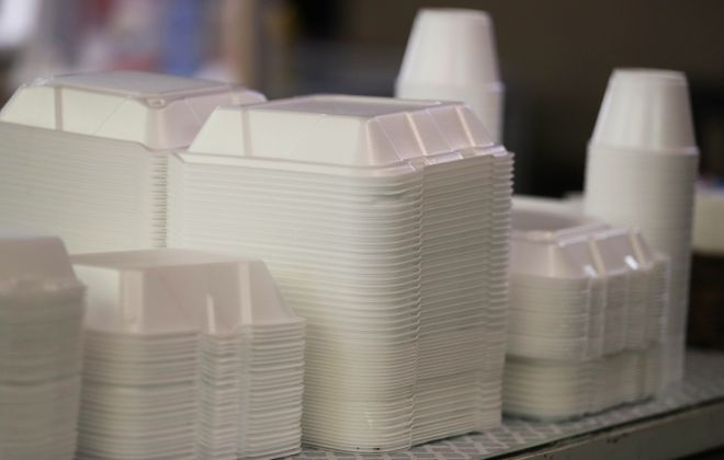 Gov. Andrew M. Cuomo plans to propose a ban on styrofoam containers in 2020. (Sharon Cantillon/News file photo)