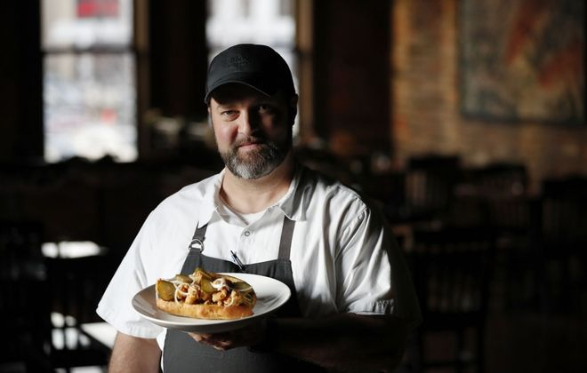 """It definitely sounds good,"" said James Roberts, owner of closed restaurants Toutant and Dobutsu, about a federal proposal. ""I mean it's gonna save a lot of places"" – as long as there's no devil hidden in the details. (Sharon Cantillon/Buffalo News)"