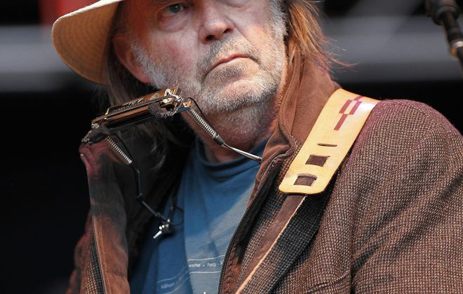 Associated Press    Neil Young offers his thoughts on his Muse and his disdain for digital recording, and shares a very personal love story.