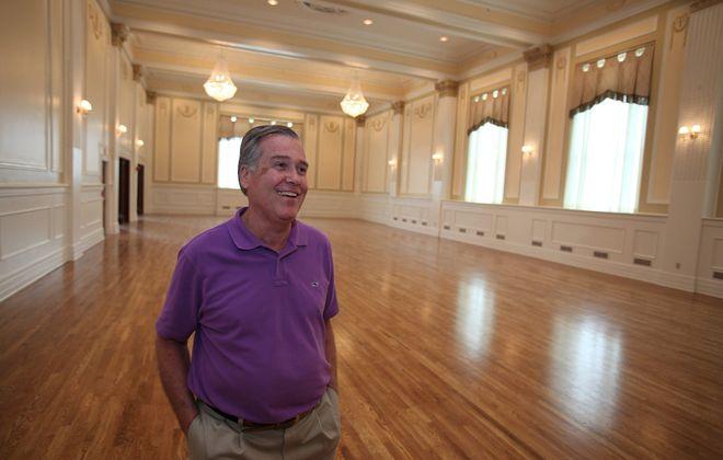 Rocco Termini in the restored Grand Ballroom of the Hotel@ Lafayette  in downtown Buffalo. (Buffalo News file photo)