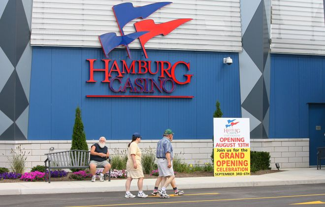 Video gaming terminals at the Hamburg Casino have drawn heated objections from the Seneca Nation.