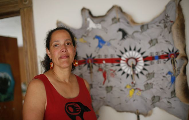 UB professor of social work Hilary Weaver, a Lakota, attends gatherings on local reservations with her family.