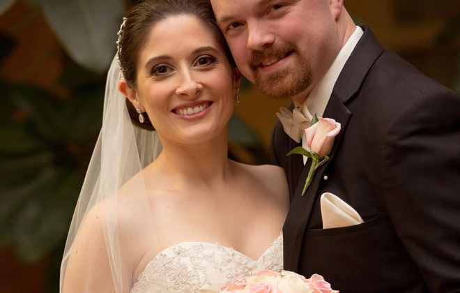 Amber Zito and Elliott Ash wed in Embassy Suites Beachwood