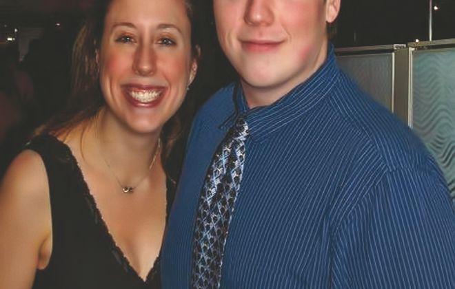 Emily Caroline Myers and Christopher Bruce Hergott wed in Saint John the Evangelist Church