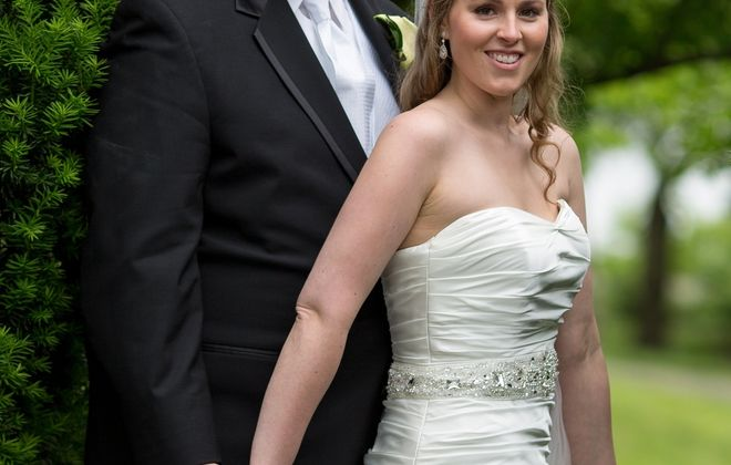 Carolyn Blake and Andrew Altomare wed in Saints Peter & Paul Church