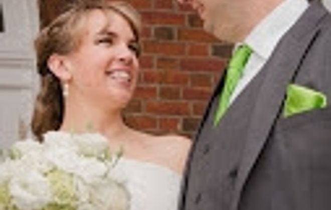 Erin Waas and Christopher Wilson were married in Burchfield Penney Art Center