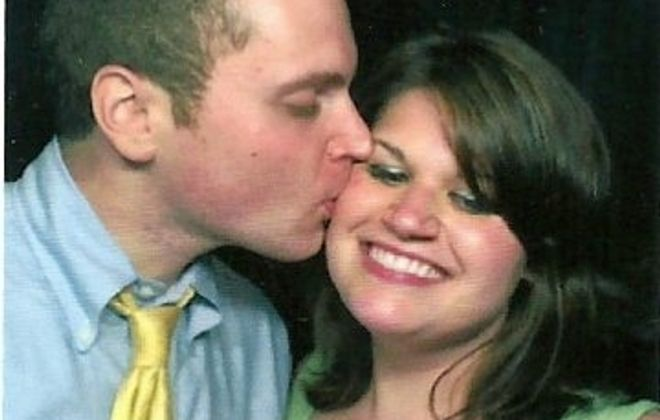 Kayleigh Tompkins and Devin Lipsitz wed in St. Anthony of Padua Church