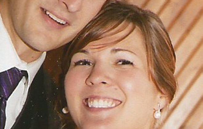 Tammy Kublas and Justin Hoelzle wed in Hoelzle residence