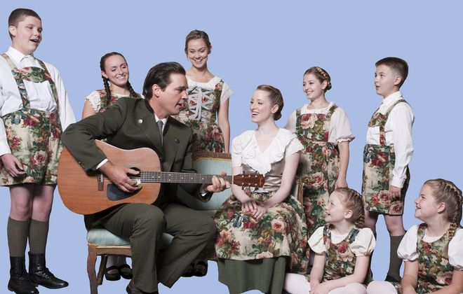"The kid-heavy cast of ""The Sound of Music"" performs the iconic musical at Artpark starting tonight."