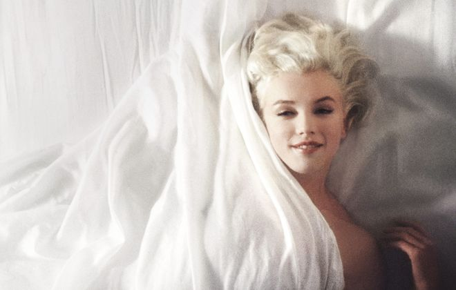 """Douglas Kirkland's photographs of Marilyn Monroe are on view in the Burchfield Penney Art Center's new exhibition """"Marilyn."""""""