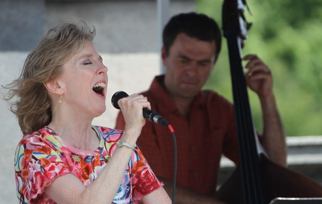 Cindy Miller puts spark into The Buffalo News Jazz at the Albright-Knox series  Sunday with the Lisa Hasselback Trio.