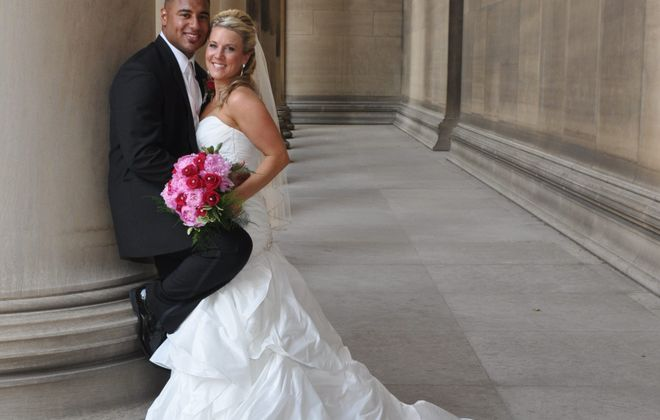Holly Evanov and Kevin Pope wed in St. Paul's Cathedral, Pittsburgh