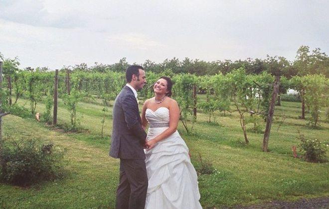 Rachael E. Melson and Michael J. Garofolo wed in Vizcarra Vineyards