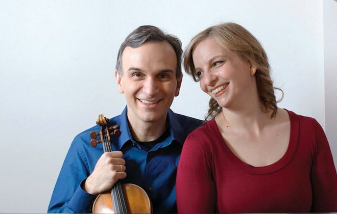 """""""Nigunim: Hebrew Melodies"""" is an extraordinary recording by violinist Gil Shaham and his sister, pianist Orli."""