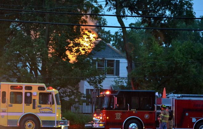 Four fire departments arrived at 1010 Saunders Settlement Rd. in  Lewiston Friday morning, but couldn't get in in time to save the elderly Florence Placek.