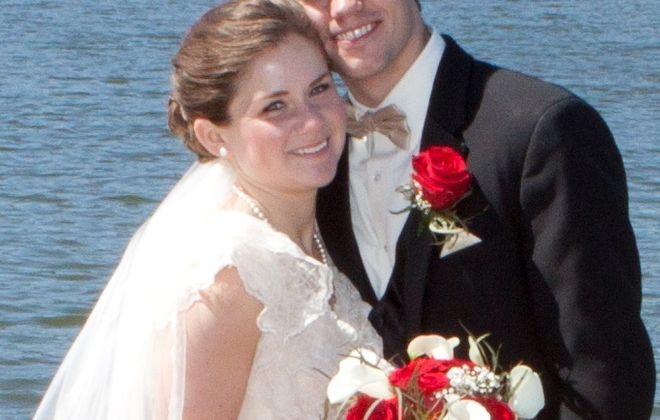 Caitlin A. English and Brendan M. Loughran wed in Queen of Heaven Church
