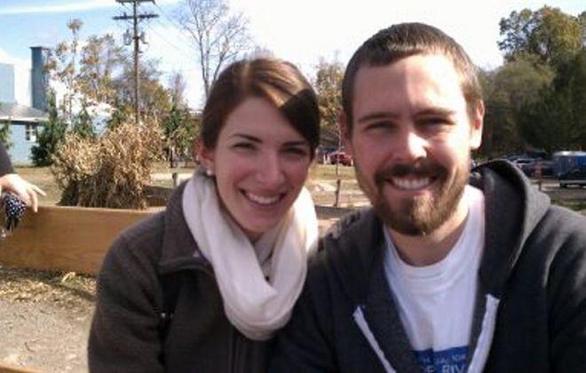 Leah Hays and Daniel Gaffney wed in Manhattan city clerk's office