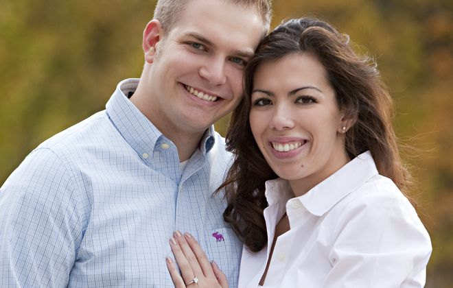 Victoria Henry and Taylor Battaglia wed in St. Joseph University Parish