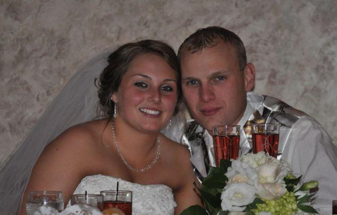 Amanda R Baker and William J. Lewandowski, Jr. wed in Church of the Assumption,