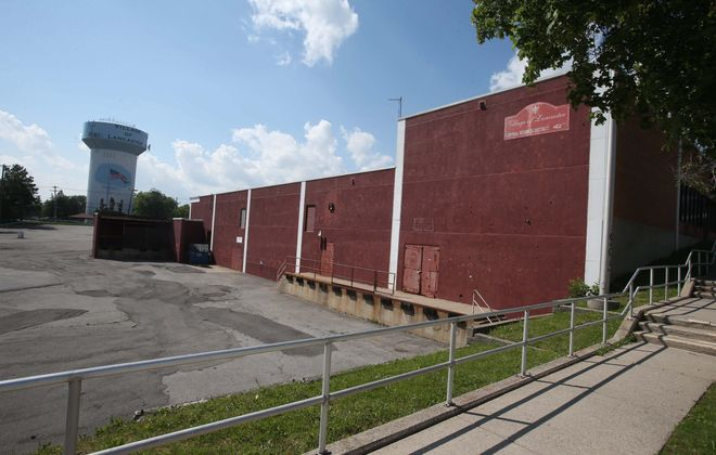 The Lancaster Village Partnership Complex, rife with asbestos, sits on 86,000 square feet, the largest single business parcel in downtown Lancaster.  The partial demolition – preserving some tenants, such as Save-A-Lot – will cost $600,000 in federal funds.