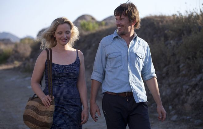 """Julie Delpy and Ethan Hawke star in """"Before Midnight."""""""