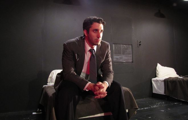 """Keith Wharton plays Ben in """"The Dumb Waiter,"""" part of """"Beckett Dances with Pinter."""""""