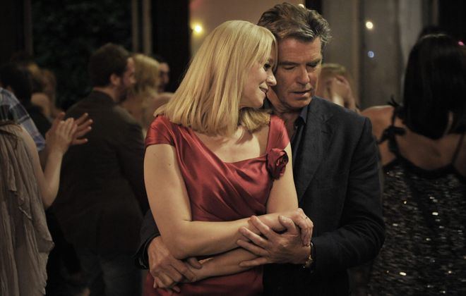 "Pierce Brosnan and Trine Dyrholm star in ""Love Is All You Need."""