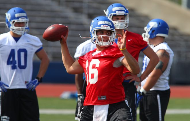 Joe Licata is the first returning quarterback during the Jeff Quinn era with winning experience.