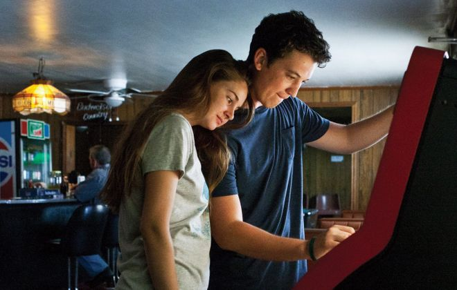 """Shailene Woodley and Miles Teller star in """"The Spectacular Now."""""""
