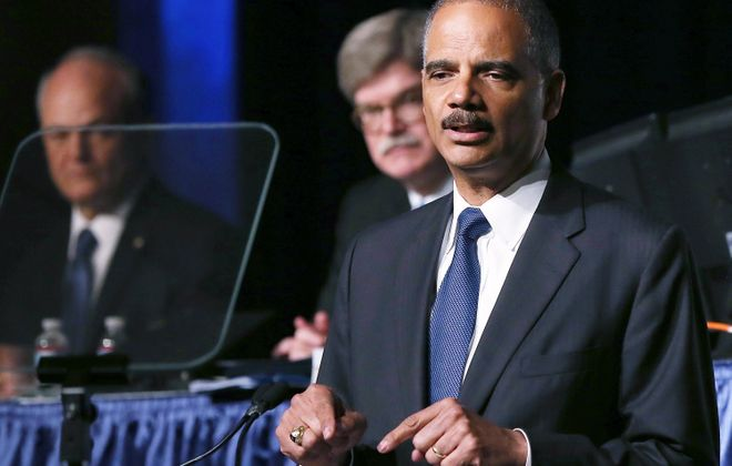 Attorney General Eric Holder announced major changes in the prosecution of nonviolent drug offenders. (AP photo)