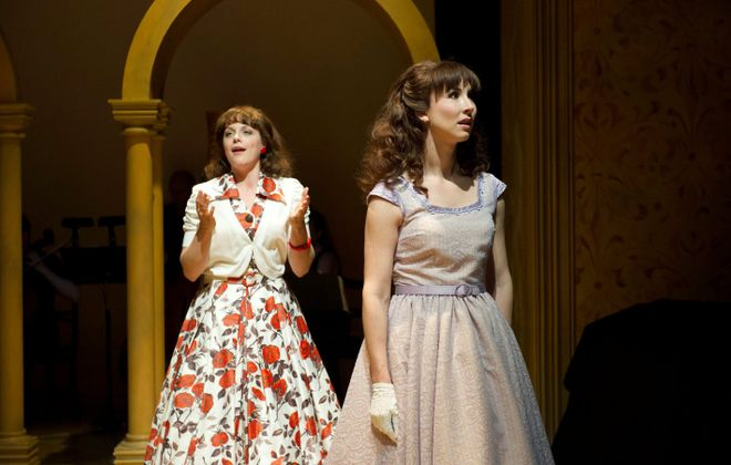 "Kaylee Harwood and Jacqueline Thair star in ""Light in the Piazza"" at the Shaw Festival."