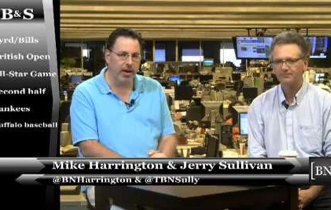 News Senior Sports Columnist Jerry Sullivan and News Sports Reporter Mike Harrington discuss the position battle to watch at Bills training camp, aside from quarterback, during the weekly live show.