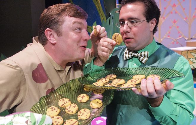 """Bobby Cooke and Jacob Albarella star in Theatre of Youth's production of """"A Year with Frog and Toad."""""""