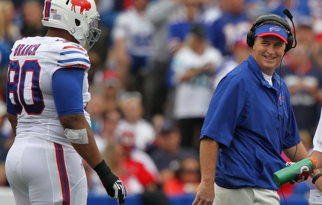 Bills coach Doug Marrone has remained grounded and unassuming.