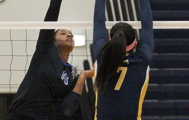 Tahleia Bishop and UB have dropped just two sets so far.