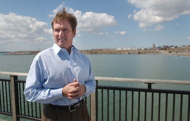 "Rep. Brian Higgins says, ""The water testing will determine whether or not the waterway is contaminated. If it's contaminated, it can't be used as a swimming beach.""  Derek Gee/News file photo"
