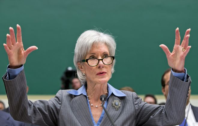 "Speaking of the bungled health care website, Health and Human Services Secretary Kathleen Sebelius told Congress: ""Hold me accountable for the debacle. I'm responsible."""